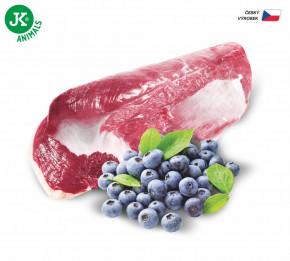 JK ANIMALS Duck & Blueberry, Premium Paté with Chunks   © copyright jk animals, všetky práva vyhradené