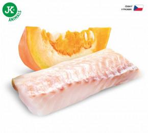 JK ANIMALS Fish & Pumpkin, Premium Paté with Chunks   © copyright jk animals, všetky práva vyhradené