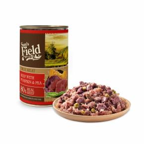 Sams Field konzerva s 80 % pravého hovädzieho mäsa 400g