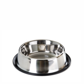 JK Nerezová protišmyková miska pre psa pr. 16 cm