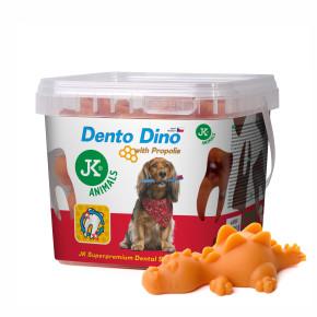 JK Dento Dino - dentálna maškrta s propolisom