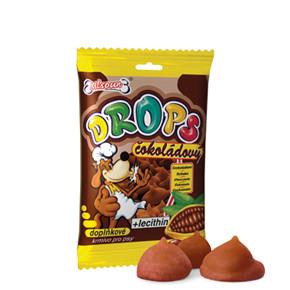 Dafiko drops čokoládový 75g