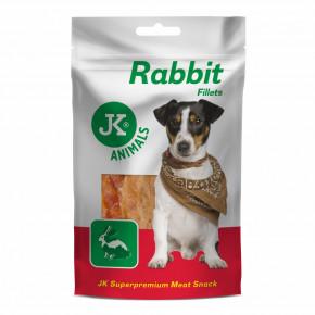 JK ANIMALS Meat Snack Rabbit fillets| © copyright jk animals, všetky práva vyhradené