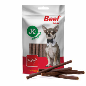 JK Meat Snack Beef Sticks, sušené hovädzie tyčinky, mäsová maškrta, 80g