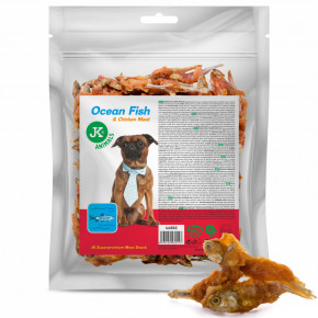 JK ANIMALS Meat Snack Ocean Fish and Chicken Meat, ryba s kuracím mäsom | © copyright jk animals, všetky práva vyhradené
