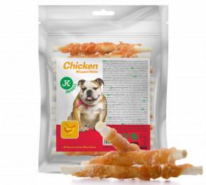 JK ANIMALS Meat Snack Chicken Wrapped Sticks, mäsová maškrta | © copyright jk animals, všetky práva vyhradené