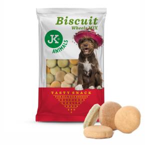 JK Biscuit - Wheel Mix - Tasty Snack 500g