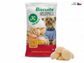 JK ANIMALS Piškoty, Biscuit with Calcium & Brewer 's Yeast, 250g | © copyright jk animals, všetky práva vyhradené