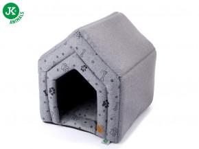 JK ANIMALS pelech domček Grey LUX M | © copyright jk animals, všetky práva vyhradené