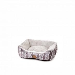 Pelech FurryS, 50cm, sivý, jemný pelech pre psov