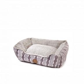 Pelech FurryM, 60cm, sivý, jemný pelech pre psov