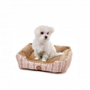 Pelech FurryM, 60cm, béžový, jemný pelech pre psov