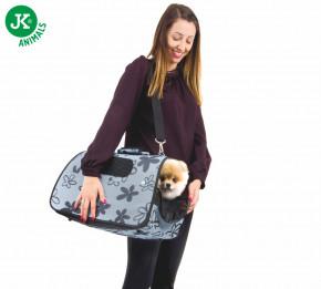 JK ANIMALS Cestovná taška Flower M   © copyright jk animals, všetky práva vyhradené
