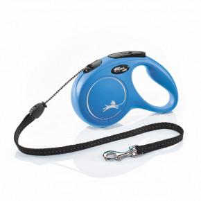 Flexi New Classic (lanko),veľkosť M 5m/20kg, modrá