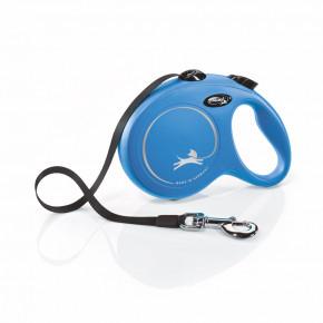 Flexi New Classic (pásik),veľkosť L 5 m/50 kg, modrá
