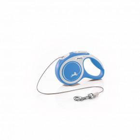 flexi New Comfort lanko, veľkosť XS 3m/8kg, modrá
