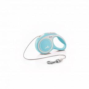 flexi New Comfort lanko, veľkosť XS 3m/8kg, svetlo modrá