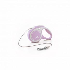 flexi New Comfort lanko, veľkosť XS 3m/8kg, fialová