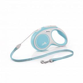 flexi New Comfort lanko, veľkosť S 5m/12kg, svetlo modrá