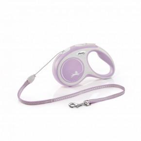 flexi New Comfort lanko, veľkosť S 5m/12kg, fialová