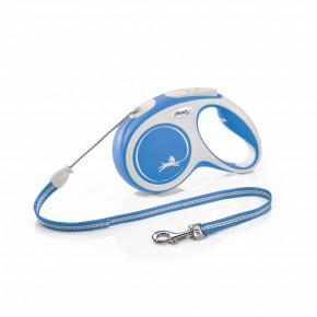 flexi New Comfort lanko, veľkosť M 5m/20kg, modrá