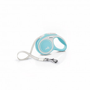flexi New Comfort pásik, veľkosť XS 3m/12kg, svetlo modrá