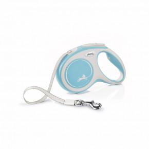 flexi New Comfort pásik, veľkosť M 5m/25kg, svetlo modré