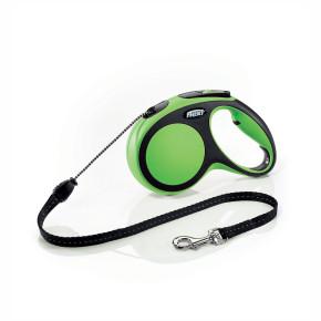 flexi New Comfort lanko, veľkosť M 5m/20 kg, zelená