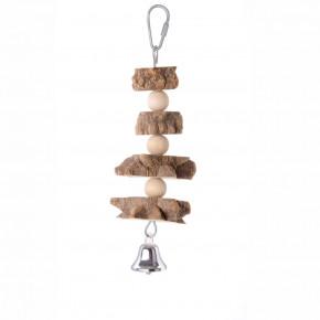 JK natural špíz, drevená hračka pre vtáky