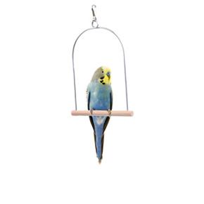 JK Vtáčie drevená malá hojdačka 12x15 cm