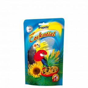 Tropifit Caockatiel, korela – obilné zrná a trávne semená, 700g