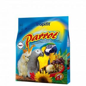 Tropifit Parrot, veľký papagáj – zmes na bázi vybraných prírodných zložiek, 1kg