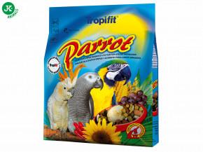 Tropifit Parrot, veľký papagáj 1kg | © copyright jk animals, všetky práva vyhradené